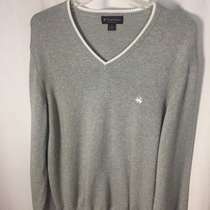 Brooks Brothers Men's XXL Gray Sweater
